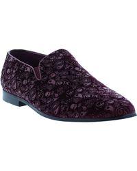 Robert Graham Rodin Smoking Slipper - Purple