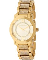 4a8747fb945d Lyst - MICHAEL Michael Kors Large Stainless Steel Chronograph Watch ...