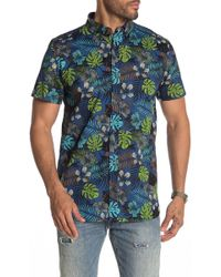 Sovereign Code - Xo Short Sleeve Regular Fit Shirt - Lyst