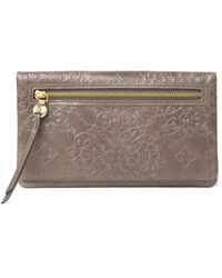 Hobo International Lumen Embossed Leather Wallet - Multicolour