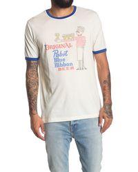 American Needle Vintage Fade Pbr Ringer T-shirt - Multicolor