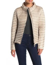 Save The Duck Ultra Light Quilted Jacket - Natural