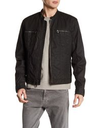 John Varvatos - Baseball Collar Jacket - Lyst
