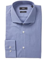 BOSS - Jason Slim Fit Dress Shirt - Lyst