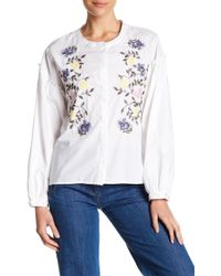 Sanctuary - Spring Danni Embroidered Top - Lyst