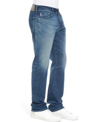 AG Jeans - Everett Slim Straight Fit Jeans (13 Years Snap) - Lyst