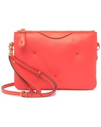 Anya Hindmarch Chubby Leather Crossbody Bag - Red
