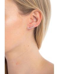 Nadri - Salmone Cz Ear Crawler Earrings - Lyst