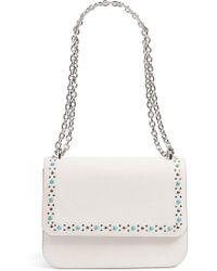 Chelsea28 - Dahlia Stone Faux Leather Crossbody Bag - Lyst