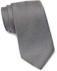 Calibrate Cohen Dot Tie - Gray