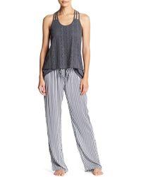 Pj Salvage - Simple Striped Pants - Lyst