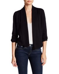 Cable & Gauge - Long Sleeve Shrug (petite) - Lyst