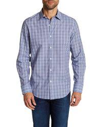 Robert Barakett - Regular Fit Dobby Check Regular Fit Sport Shirt - Lyst