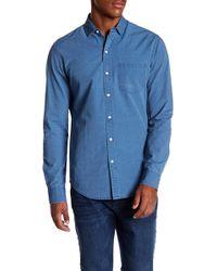 DL1961 - Bowery & Bleecker Slim Fit Denim Shirt - Lyst