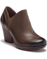 Dansko - Marcia Leather Bootie - Lyst