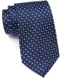 Nautica Tye Silk Blend Tie - Blue