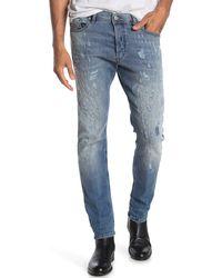 DIESEL Tepphar Slim Leg Jeans - Blue