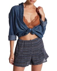 Honey Punch - Scalloped Lace Bralette - Lyst