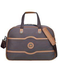 Delsey Chatelet Weekender Duffel Bag - Brown