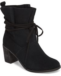 TOMS - Mila Leather Bootie - Lyst