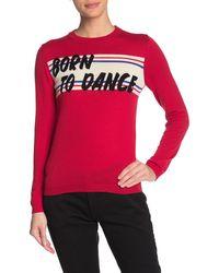 Ba&sh Graphic Wool Sweater - Multicolour