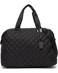 Steve Madden - Quilted Nylon Weekend Bag - Lyst