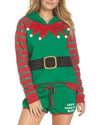 Cozy Zoe Holiday Spirit Pajamas - Green
