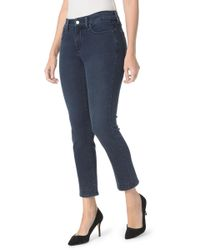 NYDJ - Sheri Embroidered Ankle Skinny Jeans (petite) - Lyst