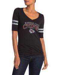 47 Brand Nfl Kansas City Chiefs Graphic T-shirt - Black