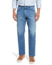 AG Jeans - Graduate Slim Straight Leg Jeans (demolition) - Lyst