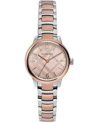 Burberry - Women's Classic Round Bracelet Watch - Lyst