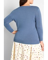 ModCloth Charter School Pullover - Blue
