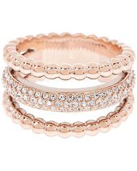 Swarovski - Click Crystal Ring - Size 55 (us 7) - Lyst