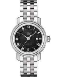 Tissot - Women's Bridgeport Swiss Quartz Watch, 29mm - Lyst