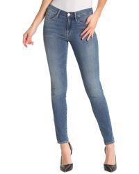FRAME - Le Skinny De Jeanne Caved Heel Skinny Jeans - Lyst