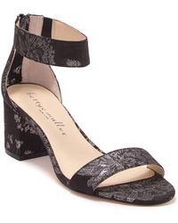 Bettye Muller Tangle Brocade Block Heel Sandal - Multicolor