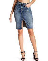 Big Star - Stella Denim Pencil Skirt - Lyst