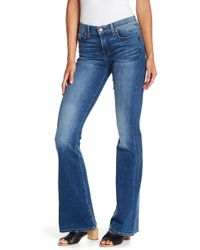 7 For All Mankind - Charlize Boot Cut Jeans - Lyst
