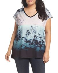REBEL WILSON X ANGELS - Mixed Media Top - Lyst