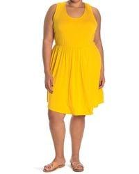 West Kei Knit Sleeveless Mini Dress - Metallic