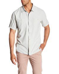 Quiksilver - Wakeslide Woven Short Sleeve Regular Fit Shirt - Lyst