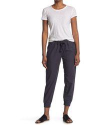 C&C California Elastic Waist Jogger Pants - Gray