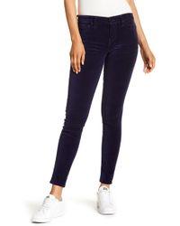 Velvet By Graham & Spencer - Low Rise Skinny Jeans - Lyst