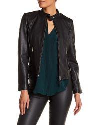 Liebeskind Berlin - Lambskin Leather Jacket - Lyst