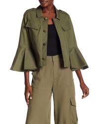 RACHEL Rachel Roy - Utility 3/4 Sleeve Jacket - Lyst