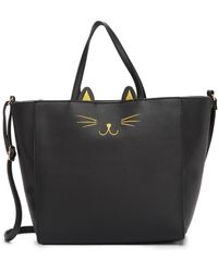 T-Shirt & Jeans - Just Kitten Tote Bag - Lyst