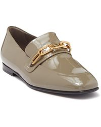 Burberry Chillcot Patent Loafer - Gray