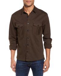 Billy Reid - Selvedge Denim Sport Shirt - Lyst