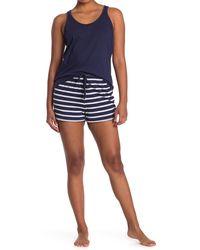 Nautica Tank & Shorts 2-piece Pajama Set - Blue