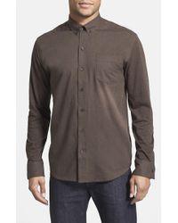 W.r.k. - Reworked Slim Fit Heathered Sport Shirt - Lyst